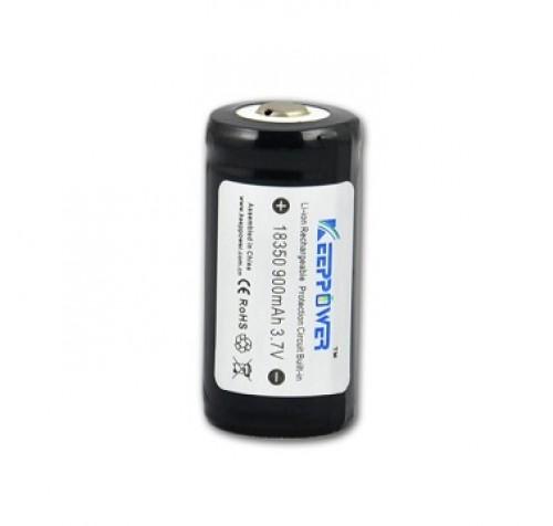 Keeppower 18350 - 900mAh, με προστασία 3.7V
