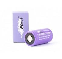 Efest IMR 26500 3,6V - 3,7V 3000mAh, μοβ LI-Ion 24A (θετικός πόλος επίπεδος)