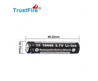 Trustfire 10440 - 300mAh 3,6V - 3,7V