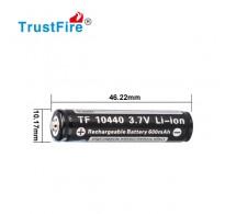Trustfire 10440 - 600mAh 3,6V - 3,7V