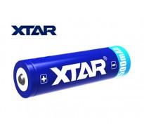 XTAR 18650 3500mAh 3.6V - 3.7V button top με προστασία