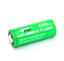 Efest IMR26650 4200mAh, 3,7V, Lithium Ionen (High Drain)