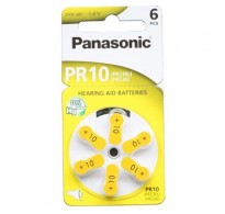 Panasonic PR 10 Zinc Air 6 pcs.