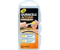 Duracell EasyTab 10 μπαταρίες ακουστικών βαρηκοΐας 6 Τεμ