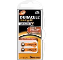 Duracell EasyTab 13 μπαταρίες ακουστικών βαρηκοΐας 6 Τεμ