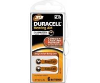 Duracell EasyTab 312 μπαταρίες ακουστικών βαρηκοΐας 6 Τεμ