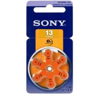 SONY 13 / PR48 Hearing Aid μπαταρίες ακουστικών βαρηκοϊας  6τεμ.