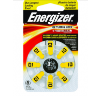 ENERGIZER®  10 HEARING AID BATTERIES – 10   ΤΕΜ8