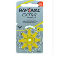 ΠΡΟΣΦΟΡΑ!!! 8 ΤΕΜ Rayovac Extra Advanced 10 / PR70 Zinc-air μπαταρίες ακουστικών βαρηκοϊας