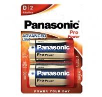 Panasonic αλκαλική D LR20 Pro Power - 2 τεμ