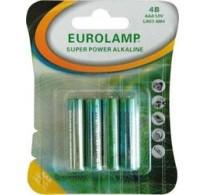 Eurolamp Μπαταρία Αλκαλική 1.5V ΑΑΑ LR03