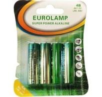 Eurolamp Μπαταρία Αλκαλική 1.5V ΑΑ LR6