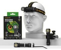 ARMYTEK WIZARD C2 PRO MAGNET USB WHITE + 18650 3500mAh