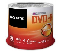 SONY DVD-R 50DMR47SP 4.7GB