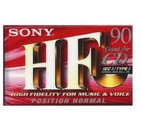SONY Κασέτα Ήχου HF 90