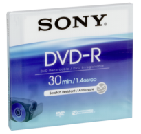 Sony DVD-R 1.4GB 8cm Jewel Case DMR 30A