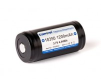 Keeppower 18350 - 1200mAh, 3,6V - 3,7V