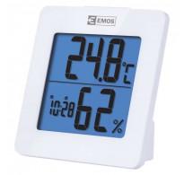 Θερμόμετρο υγρασιόμετρο ρολόι ξυπνητήρι φωτιζόμενη οθόνη