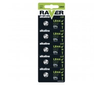 RAVER Alkaline Battery LR44  1.5V AG13, LR44, LR1154, V13GA, PX76A  1 TEMAXIO / ΜΠΑΤΑΡΙΑ