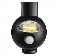 Φωτάκι νυκτός με ανιχνευτή κίνησης COB LED Λειτ με 3*ΑΑ Μπαταρίες