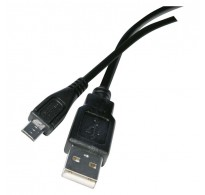 USB cable 2.0 A/Male - micro B/Male 2m