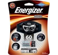 Φακός κεφαλής Energizer Headlight 3AAA με 3 LED και φωτεινότητα 60 lumens.