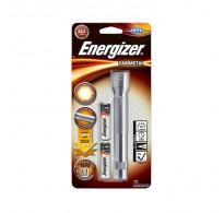 Energizer φακός μεταλλικός με 2 * ΑΑ 60 Lumens