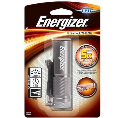 Energizer φακός μεταλλικός 50 Lum