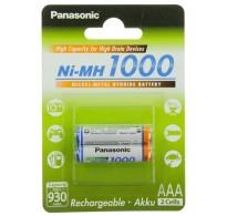 Panasonic NiMH AAA Επαναφορτιζόμενες 1000mAh BL2