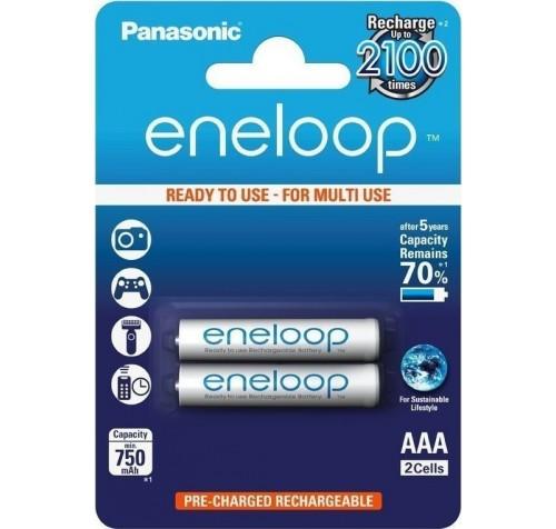 Panasonic Eneloop AAA 750mAh (2τμχ)