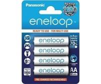 Επαναφορτιζόμενες προ-φορτισμένες μπαταρίες Panasonic Eneloop ΑΑ 1900mAh (4 τεμάχια)
