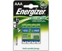 Energizer AAA 500mAh Επαναφορτιζόμενες Μπαταρίες