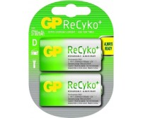 GP Batteries Recyko+ D 5700mAh (2τμχ)