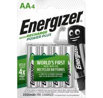 Energizer Power Plus AA 2000mAh (4τμχ)