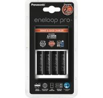Panasonic Eneloop Pro BQ-CC55 4x AA 2500mAh + Φορτιστής