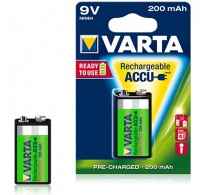 Επαναφορτιζόμενες Varta 56722 Accu 9V 200 mAh Ready 2 Use