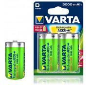Επαναφορτιζόμενες Varta 56720 Accu D 3000 mAh 1.2v Ready 2 Use