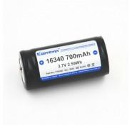 Επαναφορτιζόμενη Cr123A Keeppower 16340 - 700mAh, 3,7V Li-ion