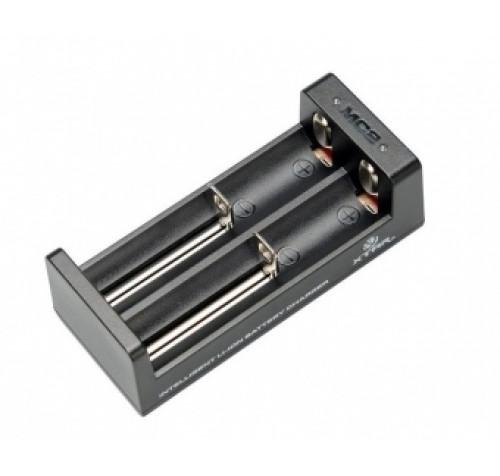 Φορτιστής για Li-Ion Μπαταρίες 2 Θέσεων XTAR MC2