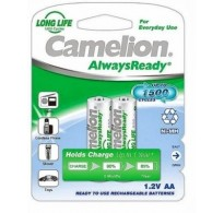 Camelion επαναφορτιζόμενες ΑΑ 800mAh 1.2v τεμ 2