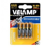 Velamp Επαναφορτιζόμενες HR03 / AAA-1000MAH TEM 4