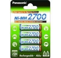 Panasonic Ni-MH AA 2700mAh (4 τμχ)