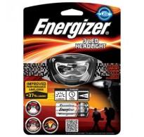 Φακός κεφαλής Energizer Headlight 3AAA με 3 LED και φωτεινότητα 41 lumens.