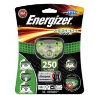 Φακός Κεφαλής Energizer Vision HD+ 3 Led 250 Lumens με Μπαταρίες AAA 3 Τεμ.