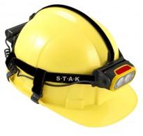 Φακός κεφαλής για κράνος ασφαλείας επαναφορτιζόμενος STH200 Velamp