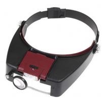 Γυαλιά - μεγεθυντικός φακός κεφαλής με ζουμ 10x και φως LED