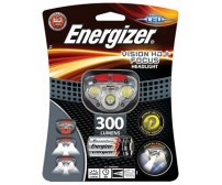 Φακός Κεφαλής Energizer Vision HD+ Focus 3 Led 300 Lumens με Μπαταρίες AAA 3 Τεμ.