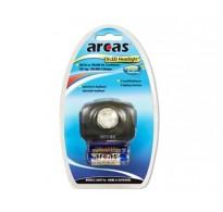 Arcas Φακός Κεφαλής 5 LED + 3 AAA