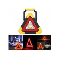 Επαναφορτιζόμενος Φακός Εργασίας - Φωτιστικό Ασφαλείας - Powerbank - COB 5w LED 300 Lumens - Τρίγωνο Αυτοκινήτου