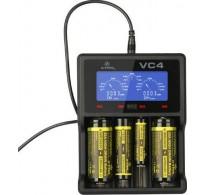 Φορτιστής 4 θέσεων XTAR VC4